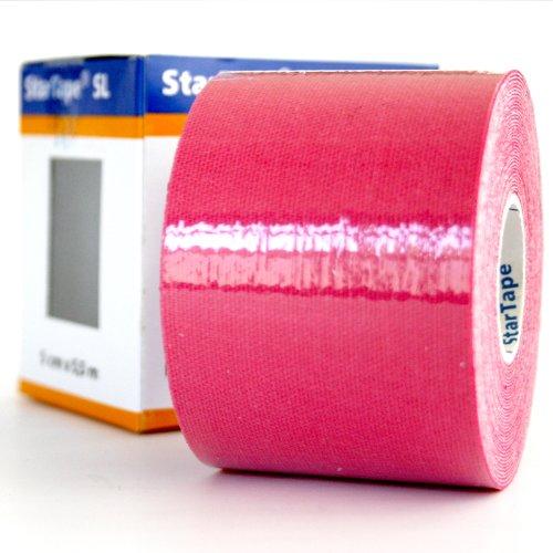 Star-Tape Kinesiologie-Tape 5,5m x 5 cm, rot -