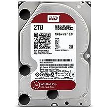 Western Digital WD2002FFSX - Disco duro interno HDD de 2 TB, Interface SATA3 (6 Gb/s), color rojo