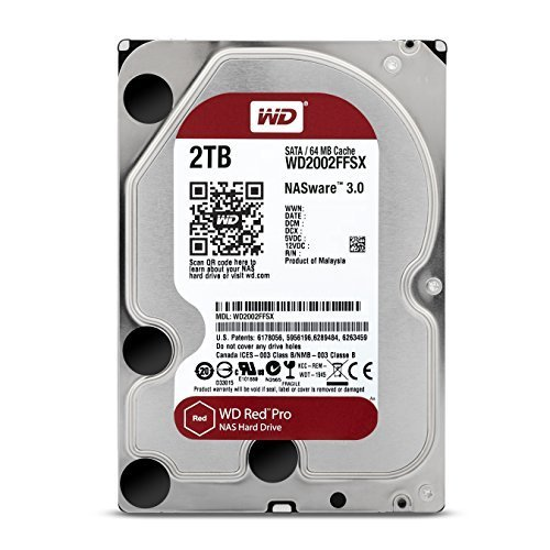 WD Red 2TB interne Festplatte SATA 6Gb/s 64MB interner...