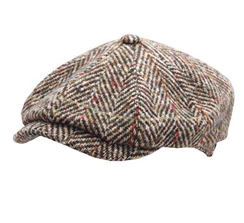 stetson-boinas-gorra-plana-hombre-hatteras-herringbone-talla-59-cm-multi-347