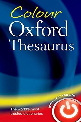 Colour Oxford Thesaurus