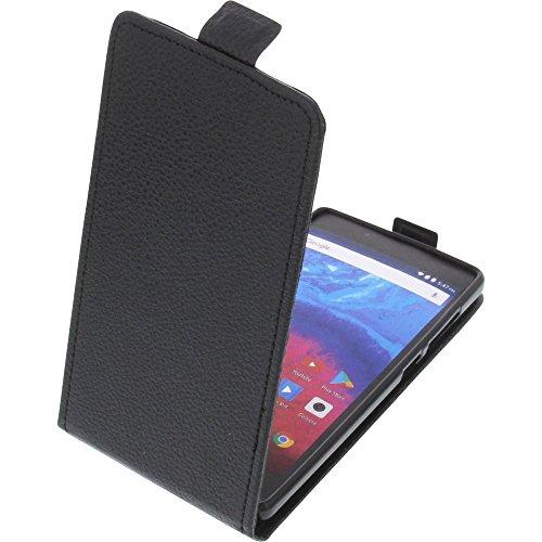 foto-kontor Tasche für Archos Core 50 Smartphone Flipstyle Schutz Hülle schwarz