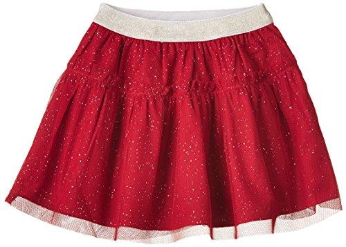 United Colors of Benetton Baby - Mädchen Rock, Tutu, 74 (Herstellergröße: 9 - 12 months), Rot (Red)