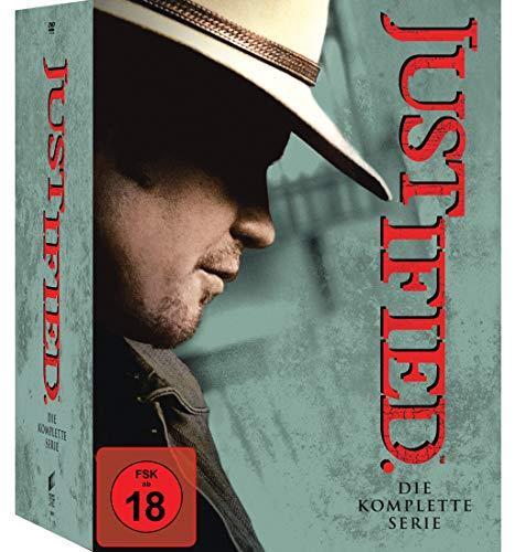 Justified - Die komplette Serie (18 Discs)