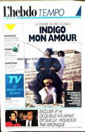 Max Mon Amour - HEBDO TEMPO (L') [No 1] du 01/04/1987