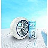Bottari 68042: Calze da neve per auto, Taglia 71, Prodotto compatibile con tutti gli pneumatici...