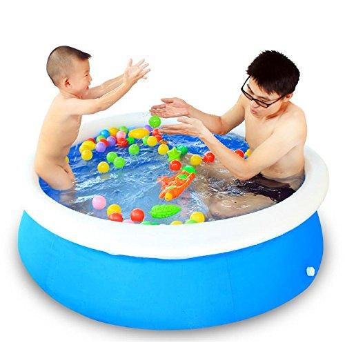 LIVY Familie Schwimmbad Kleinkinder aufblasbaren Pool Ocean Pool-Ball-Pool Billard Scheibe