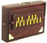 MKS Concert Shruti Box - Teak Wood - Walnut Color - 13 Drone (PDI-BAG)