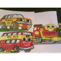 Baby Driver Board Book: Chuffie the Steam Engine; Big Red the Fire Engine; Tuffy the Jeep; Big Bus the Double Decker Pack B by Ian Pillinger - Decker Driver
