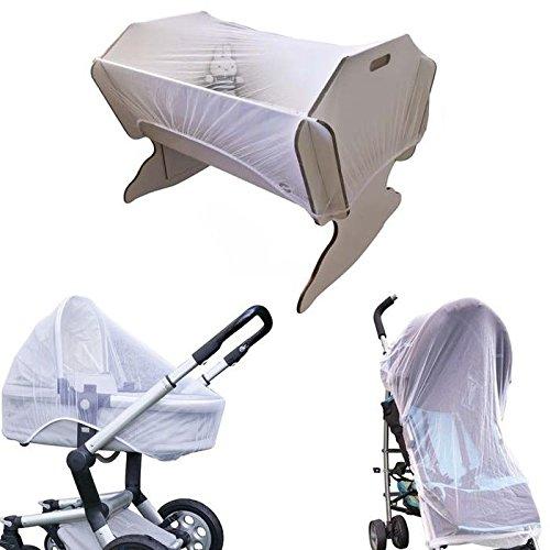 Kinderwagen Kinderbett Moskitonetz Mückennetz Insektenschutz Fliegengitter Baldachin insektenschutzvorhang