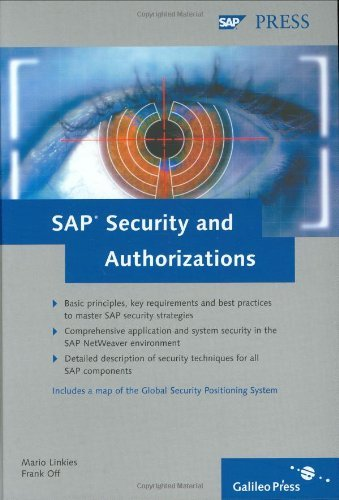 SAP Security and Authorizations: Risk Management and Compliance with Legal Regulations in the SAP Environment by Mario Linkies (2006-04-28) par Mario Linkies;Off Off