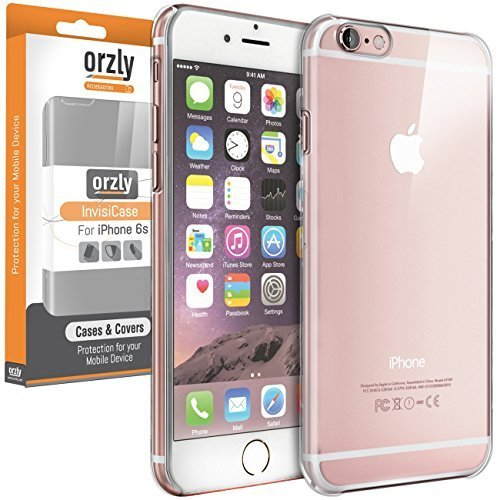 Orzly® - InvisiCase für Apple iPhone 6 PLUS & 6S PLUS (5,5 Zoll Modellen - 2014 Modell & 2015 Version) - Schützende Telefon-Abdeckung Shell - 100% TRANSPARENT iPhone 6 / 6S