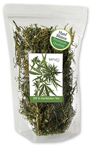 berryz Hanf Buds + Große Blüten / Knospen + Hanftee aus Speisehanf ( Cannabis Sativa ) (Knospe Für Weniger)