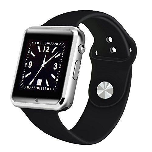Yuntab Smartwatch-K9 Bluetooth 3.0 di Smart Orologio Wrap Watch Phone per IOS di Apple Iphone 4 / 4s / 5 / 5c / 5s / 6/6 Plus Android Samsung S2 / S3 / S4 / S5 / nota 2/3 nota HTC (nero)