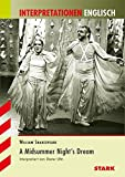 Interpretationen Englisch - Shakespeare: A Midsummer Night's Dream