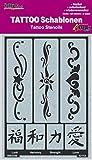 KREUL Hobby Line Tattoo Schablonen, Bänder 2, 1 Stück