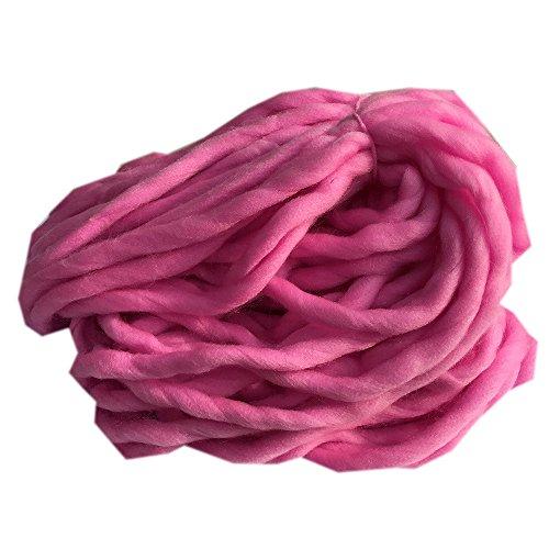 sunnymi Super Soft Ball Woolen Roving Häkeln/Geschenk/DIY Wolle Garn Bulky Arm Strick Wolle/Pullover Hüte Schals Decke/20x20x20cm (J)