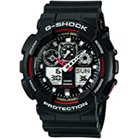 G-Shock Analog-Digital Black Dial Men's Watch - GA-100-1A4DR