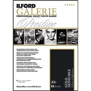 Ilford 2002450 Papier pour Imprimante A3 25 Feuilles