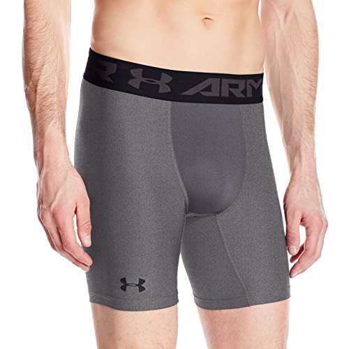 Under Armour Hg Armour 2 Comp Shorts Herren Kurze Hose, Carbon Heather, L, 1289566 Herren Trainings Short Shorts