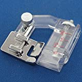 PIXNOR snap-on sesgo Binder cinta vinculante pie prensatelas para uso doméstico máquinas de coser