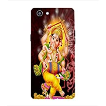 ColourCraft Lord Ganesha Design (T2961) Back Case Cover for Oppo REALME 1