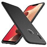 iBetter Huawei P Smart+ Hülle, Huawei P Smart Plus Hülle, [Schwarz Soft Hülle] Ultra Thin Silikon Schutzhülle Tasche Soft TPU Hüllen Handyhülle für Huawei P Smart+ Smartphone
