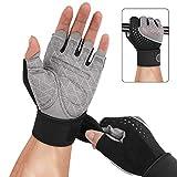 DIMJ Fitness Handschuhe,Trainingshandschuhe Atmungsaktive Sport Handschuhe für Gewichtheben, Cross...