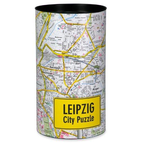 Preisvergleich Produktbild Extragifts City Puzzle Leipzig