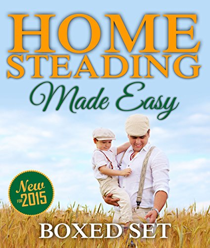 Homesteading Made Easy (Boxed Set): Self-Sufficiency Guide for Preppers, Homesteading Enthusiasts and Survivalists (English Edition) - Boxed Garten
