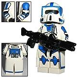 CBD 501st Legion ARF Scout Clone Trooper Boomer - Custom Brick Design Figur gefertigt aus Lego Star Wars & custom Teilen