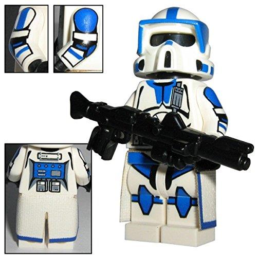 CBD 501st Legion ARF Scout Clone Trooper Boomer - Custom Brick Design Figur gefertigt aus Lego Star Wars & custom Teilen (Lego Decal Star Wars)