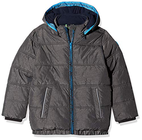 s.Oliver RED Label Junior Jungen Puffer Jacket mit Fleecefutter Dark Grey Melange 98