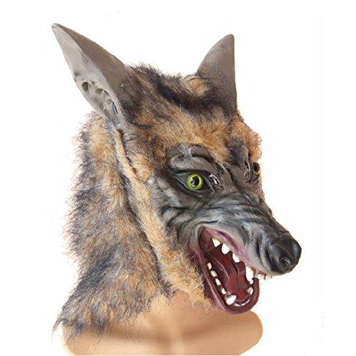 (EnGive Halloween Maske Deko Werwolf Horror Masken (werwolf maske 1))