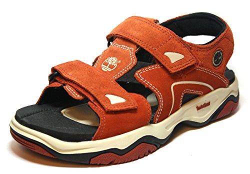 Timberland 67936 Jungen Schuhe Sandalen Orange EU 37