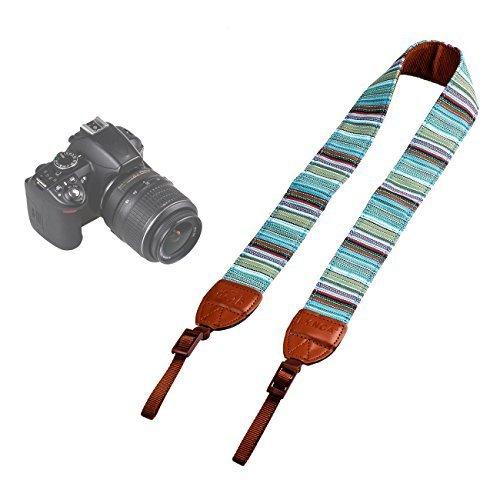 LYNCA LYN-251Z Kamera Tragegurt Bohemian style Schulter Strap Kameragurt für Canon Nikon Pentax Sony usw.