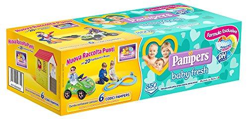 Pampers Baby Fresh Salviettine, Pacco da 350 Pezzi