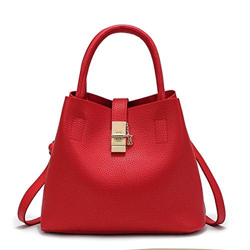 Sprnb Die Freizeitaktivitäten Liste Mutter Neuen Beutel Eimer Diagonal Bag Female Bag Lady Alle-Match gules
