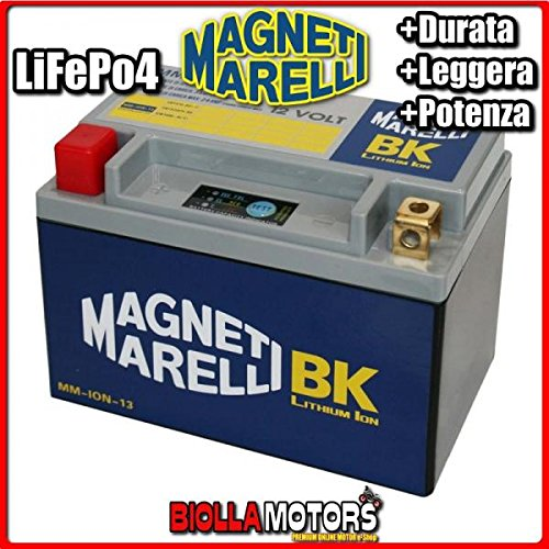 MM-ION-13 BATTERIA LITIO MAGNETI MARELLI YTX16-BS LiFePo4 YTX16BS MOTO SCOOTER QUAD CROSS