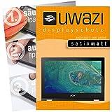 uwazi Acer Spin 1 SP111-32N-P1PR Schutzfolie 3X Satin-matt Displayschutzfolie Folie