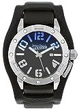 Jean Paul Gaultier Herren Analog Quarz Uhr mit Leder Armband 8501701