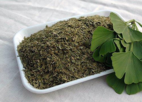 Naturix24 - Ginkgoblättertee, Ginkgoblätter geschnitten - 500g-Beutel