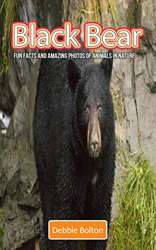 Black Bear: Fun Facts and Amazing Photos of Animals in Nature (English Edition)