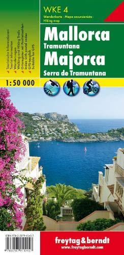 Mallorca - Tramuntana, Wanderkarte 1:50.000, WKE 4: Wandel- en fietskaart 1:30 000 (freytag & berndt Wander-Rad-Freizeitkarten)