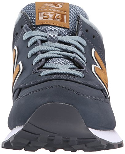 New Balance Mens Classics Traditionnels Synthetic Trainers Navy