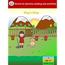 Mag's Mop (MG Series for Phonics reading and activities Book 3)