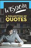 WISDOM: A Collection of Quotes: Abraham Lincoln, Albert Einstein, Benjamin Franklin, Bruce Lee, Carl Sagan, Isaac Newton, John Lennon, Lao Tzu, Leonardo da Vinci, Pablo Picasso and many more!