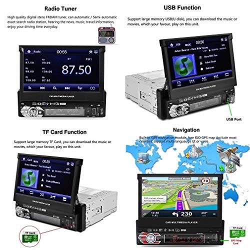 Herrlich 7 Zoll 2 Din Auto Mp5 Radio Multimedia Gps Navigation Auto Stereo Mit Bluetooth Exzellente QualitäT Unterhaltungselektronik Mp4 Player
