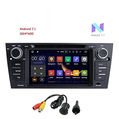 freeauto für BMW E90/2006–2011BMW E91/2006–2011BMW E92/2006–2011BMW E93Android 7.1Quad Core 17,8cm Auto Stereo Multi-Touchscreen Radio CD DVD Player 2DIN 1080P Video - Radio Cd-player Multi