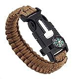 Bluelans® Survival Armband
